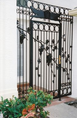 Custom Made Grape Vine Entrance
