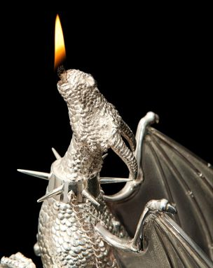Custom Made The CRAWFORD Silver Dragon