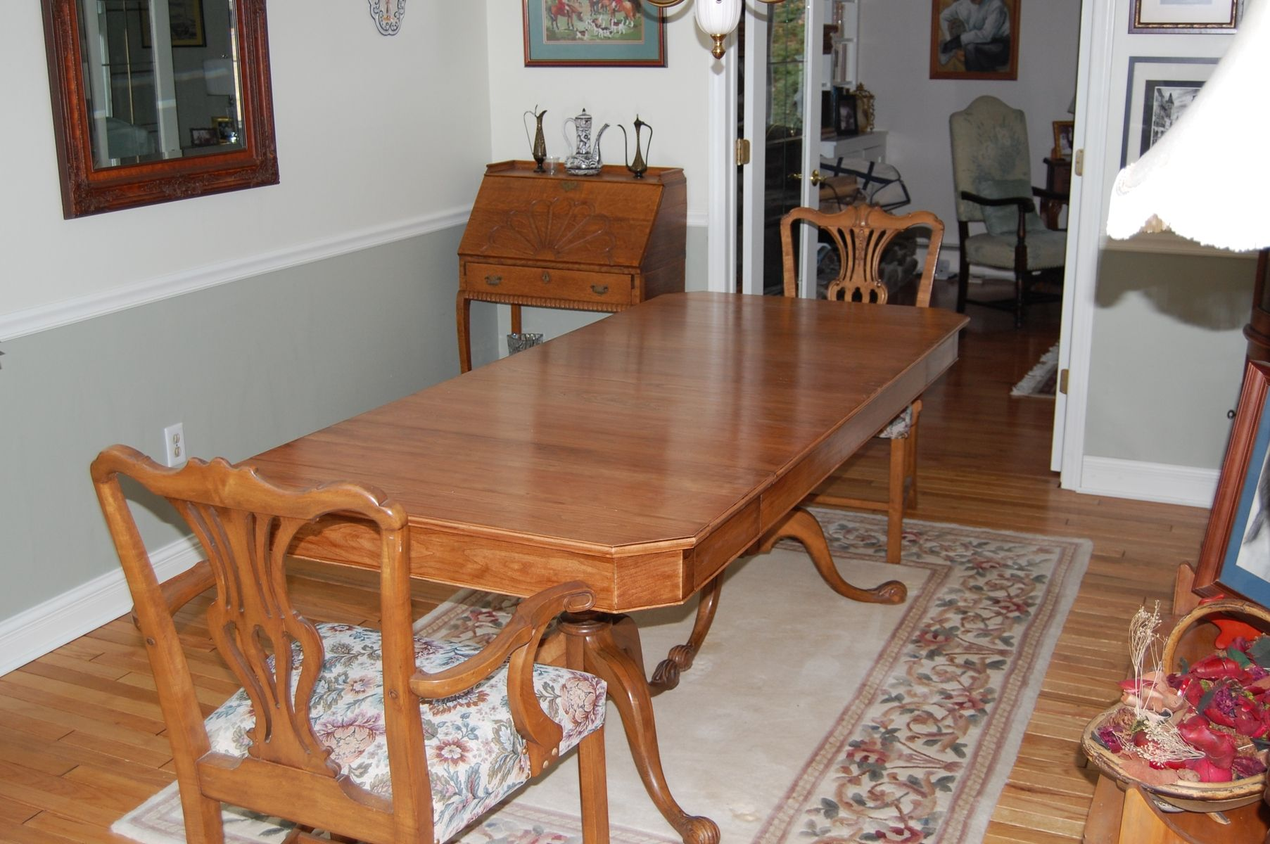 custom cherry dining room table by yes fine woodworking