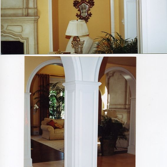 Staggering Raised Panel Molding Raised Panel Cap Molding: Hand Crafted Arches, Raised Panel Columns And Circular