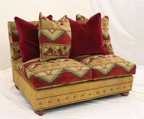 Custom Made Chaise Sectional Sofa, High End Furniture