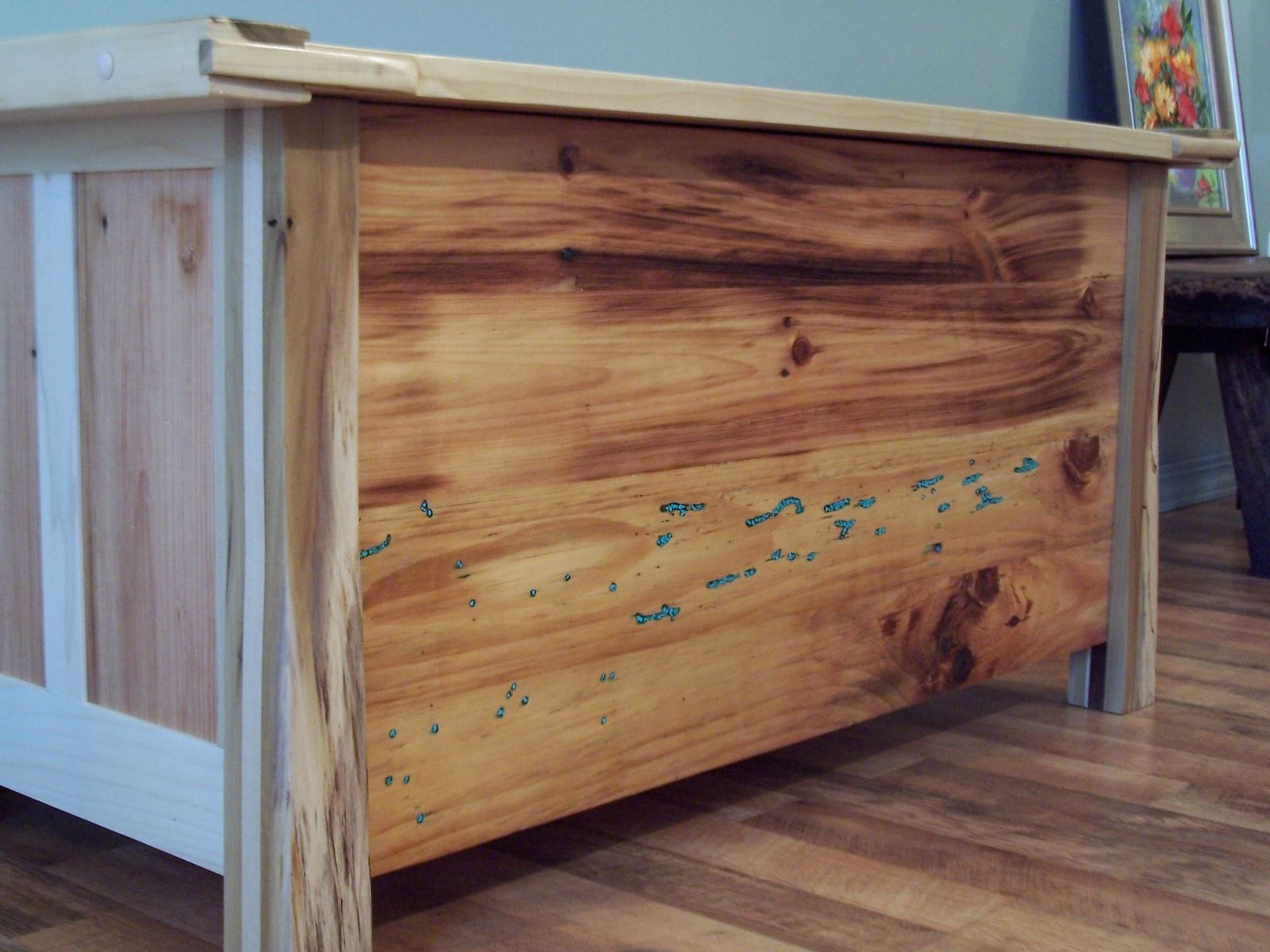 Custom Reclaimed Pine Blanket Chest By Nature 39 S Knots