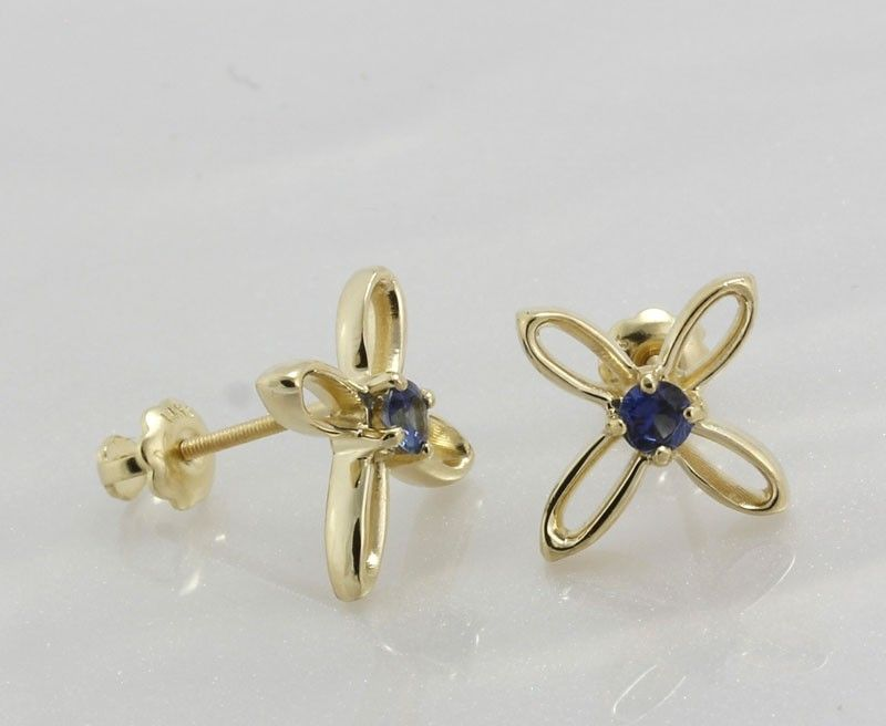 Hand made sapphire earrings by devlin design studio for Sapphire studios jewelry reviews