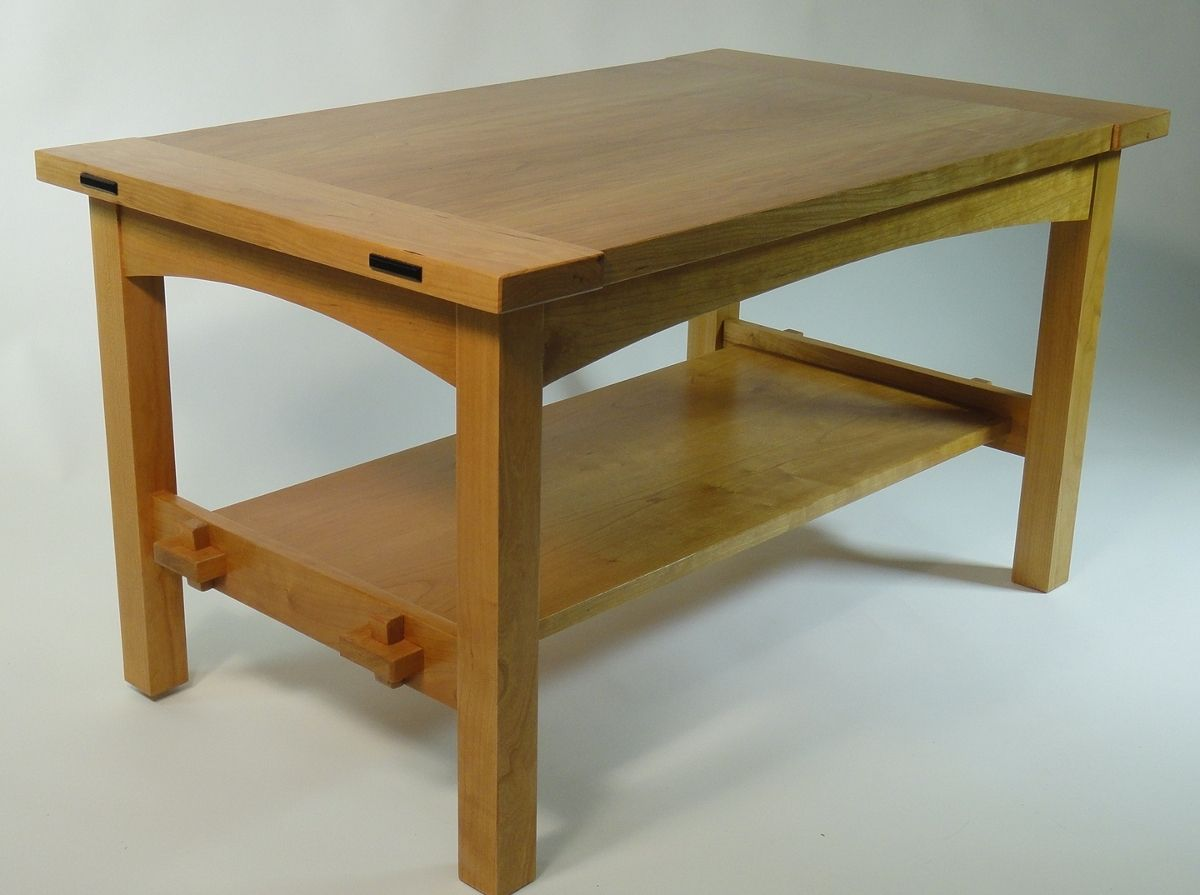 Handmade Mission Coffee Table By Mostly Mission Furniture