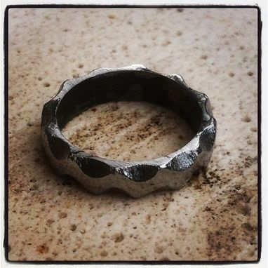 Handmade Engineer S Iron Ring By Organic Iron Concepts