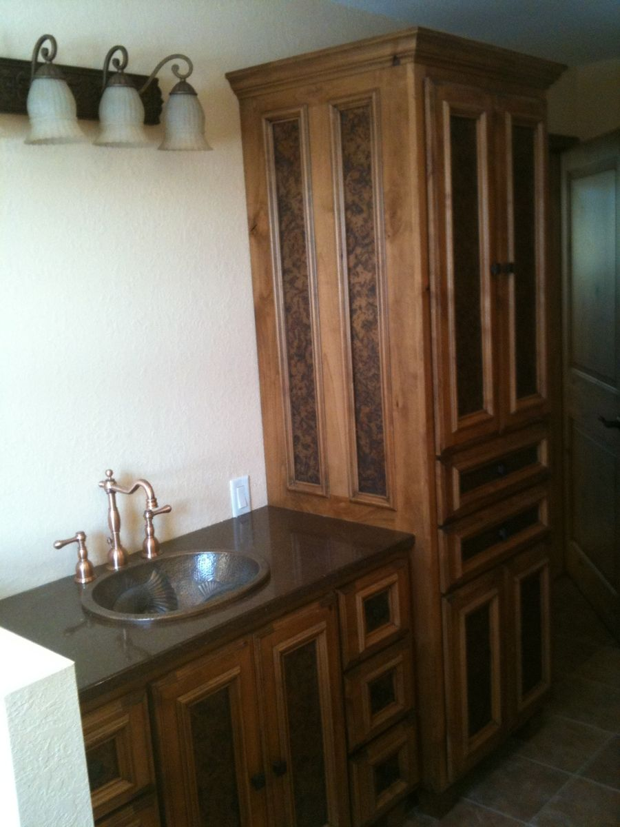 Hand Made Fancy Bath Vanity By Stone Creek Cabinetry Llc