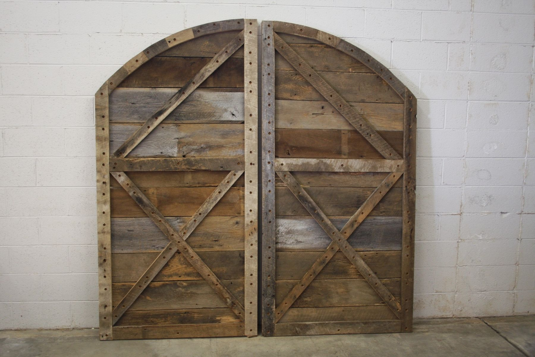 Buy Hand Crafted Arched Top Barn Doors, made to order from Heirloom, LLC | CustomMade.com