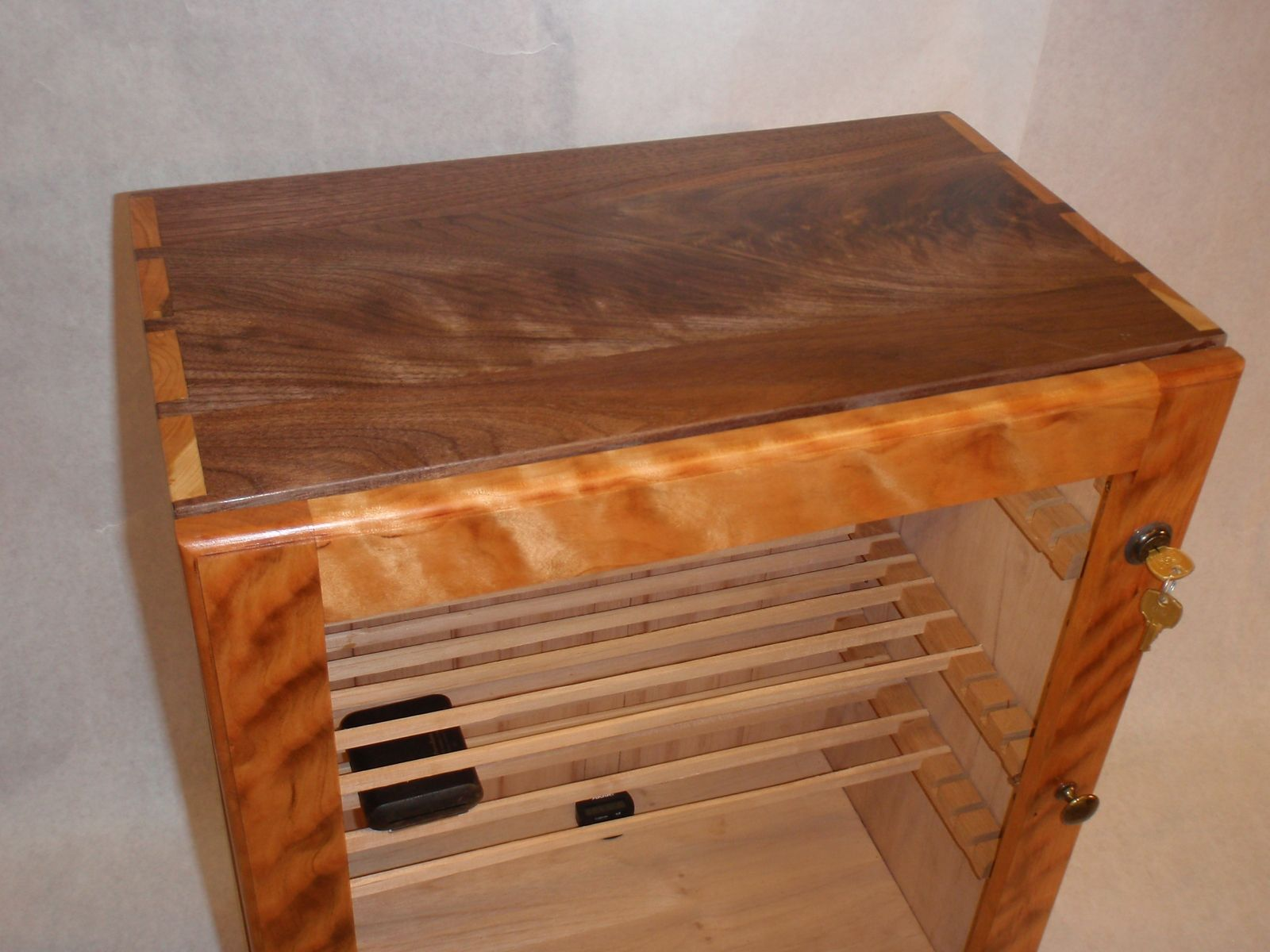 Handmade cigar humidor by custom furniture creations for Custom made furniture