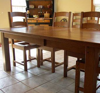 Collection Of Handmade Dining Room Table Fannin Solid