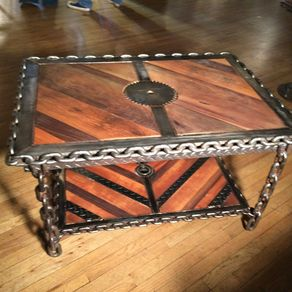 Industrial Steampunk Coffee Table By Randy Maner