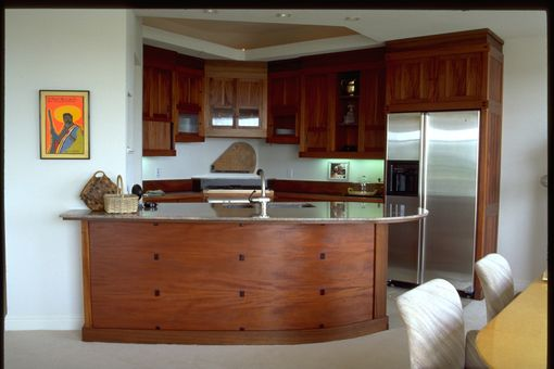 Custom Made Mahogany Kitchen