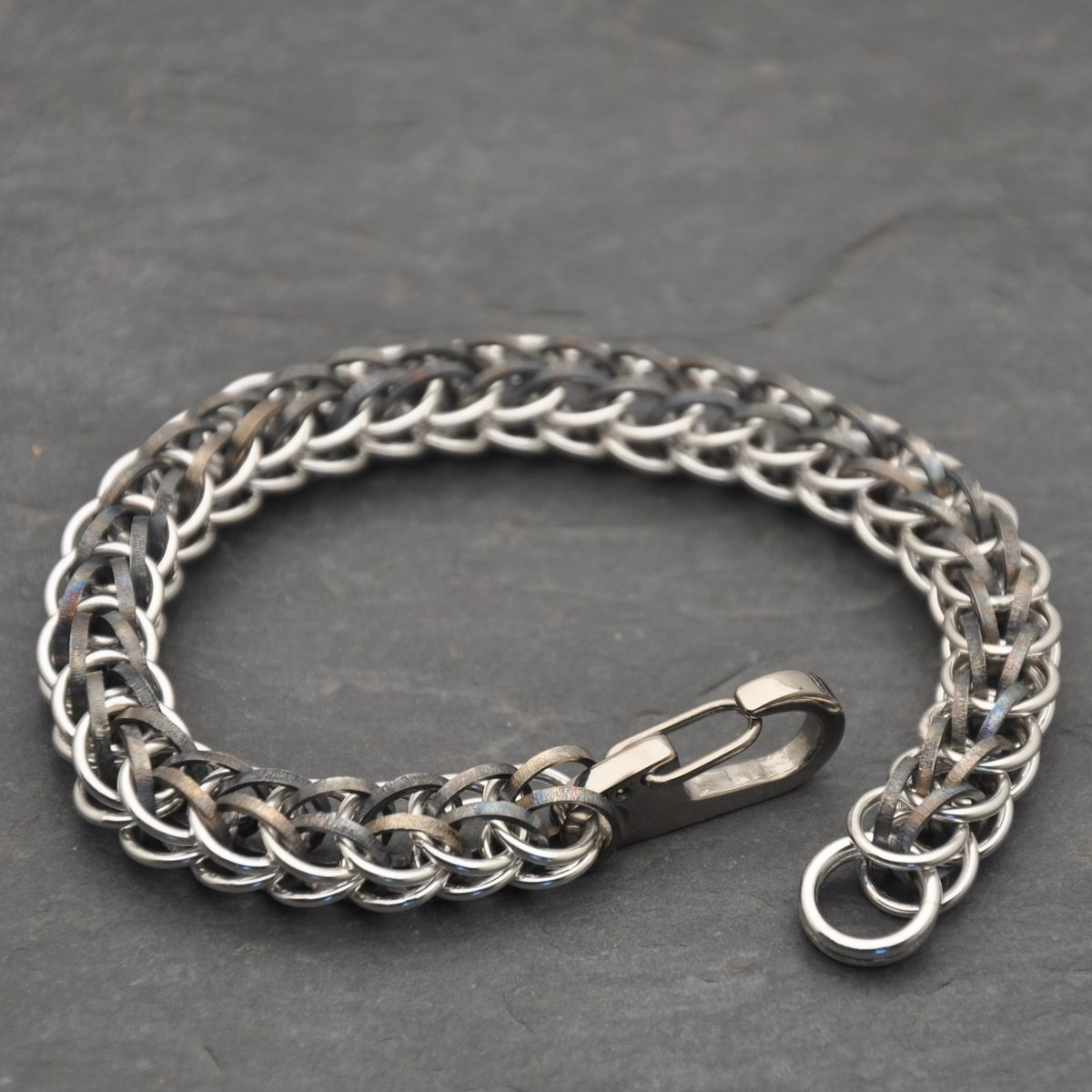 Make A Chain Mail Bracelet