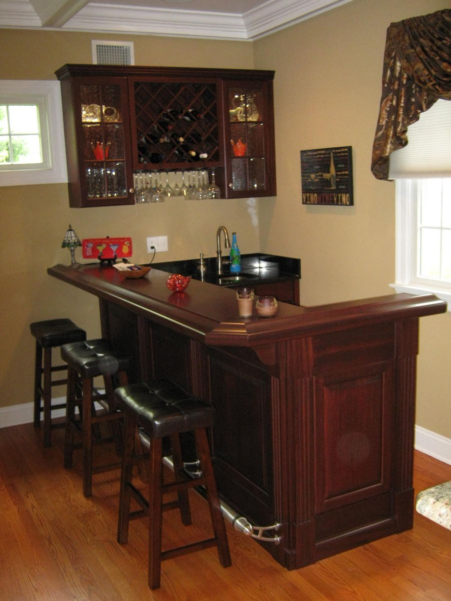 Custom bars by david leiz custom woodworking inc - Bars for house ...