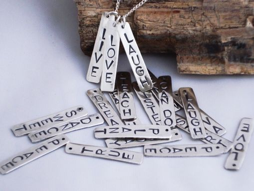 Custom Made In A Word Charms, Name