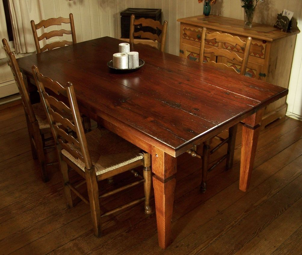 custom made barnwood table by cottage home. Black Bedroom Furniture Sets. Home Design Ideas