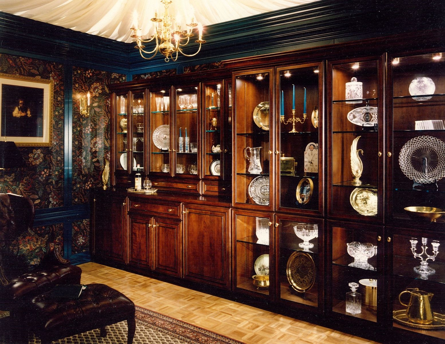 Custom Built In Cabinetry For Home China Display Library