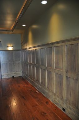 hand crafted wood wall paneling by yoder custom design. Black Bedroom Furniture Sets. Home Design Ideas