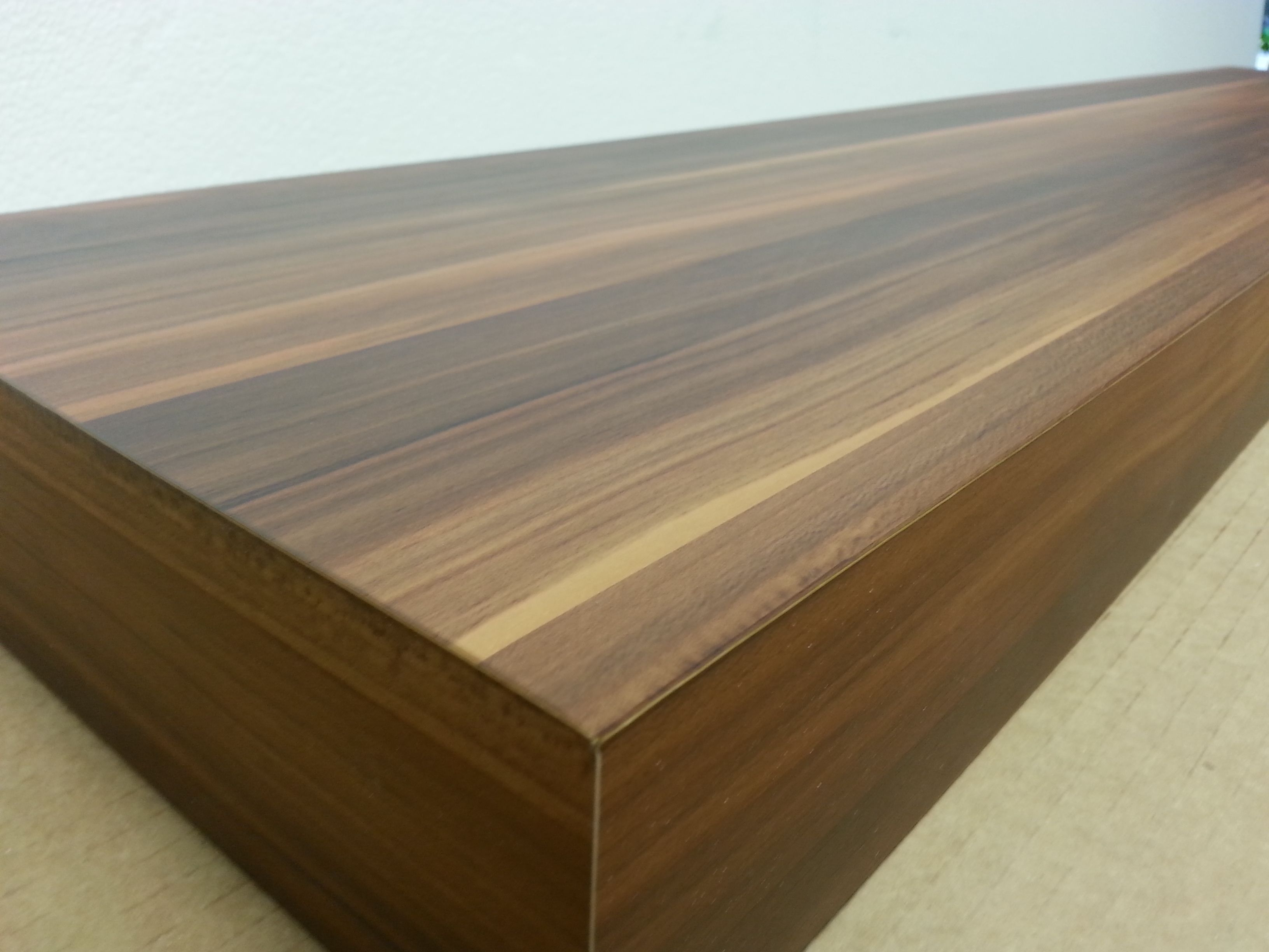 Buy A Hand Crafted Cedar Floating Wall Shelves 72 Inch