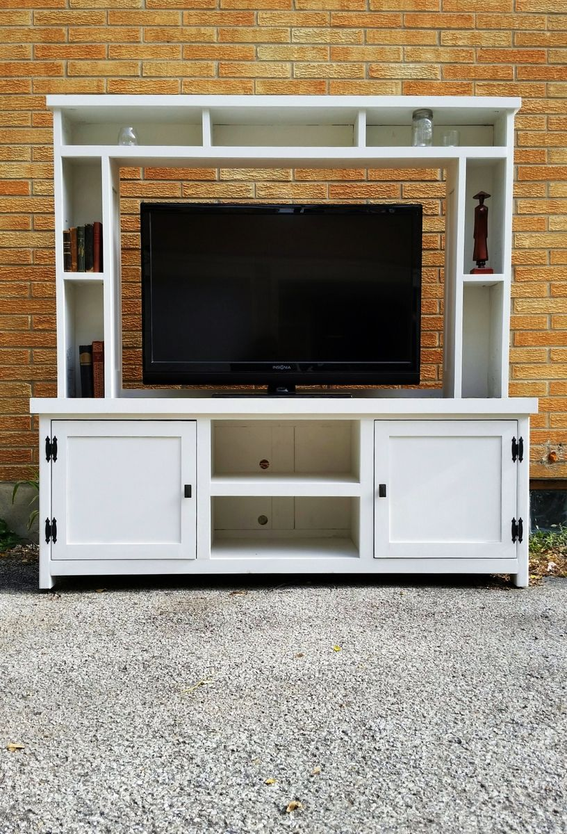 Buy A Hand Made Barn Wood Tv Stand Media Console