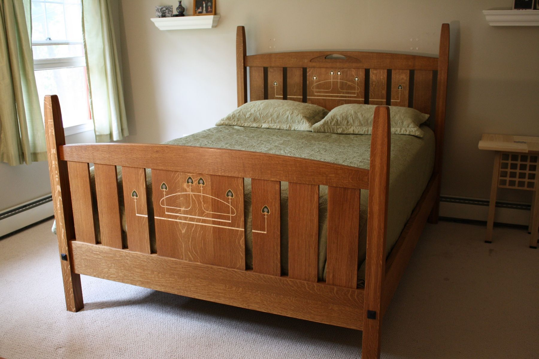 Hand made glasgow bed by kevin rodel furniture design for Beds glasgow