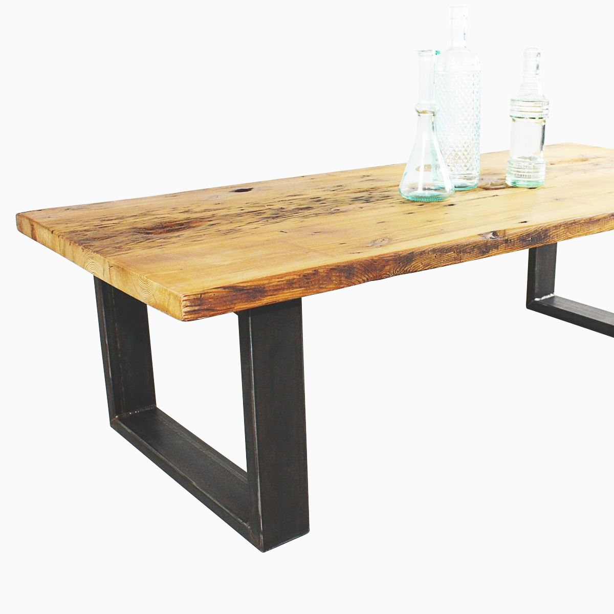 Buy a hand made reclaimed pine coffee table made to order for Reclaimed coffee table