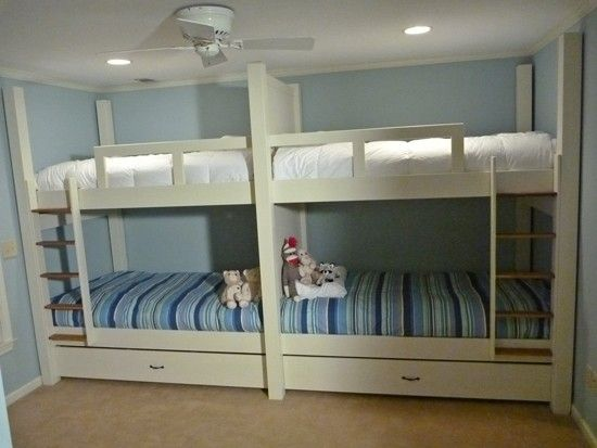 Handmade Quad Bunk Bed By Bsr Woodworks Custommade Com