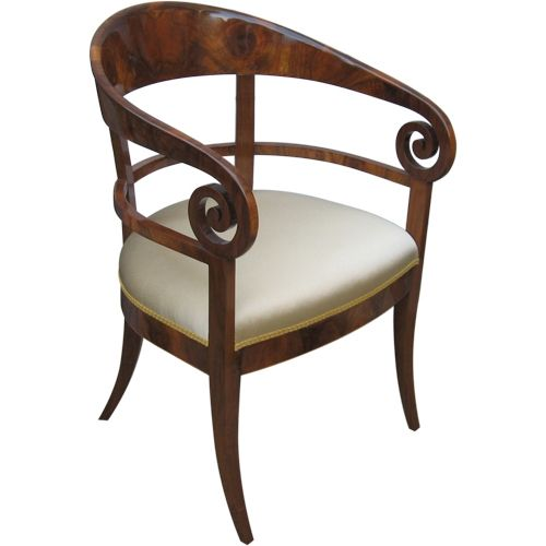 Hand Made Biedermeier Armchair Reproduction by Jr-Quality ...