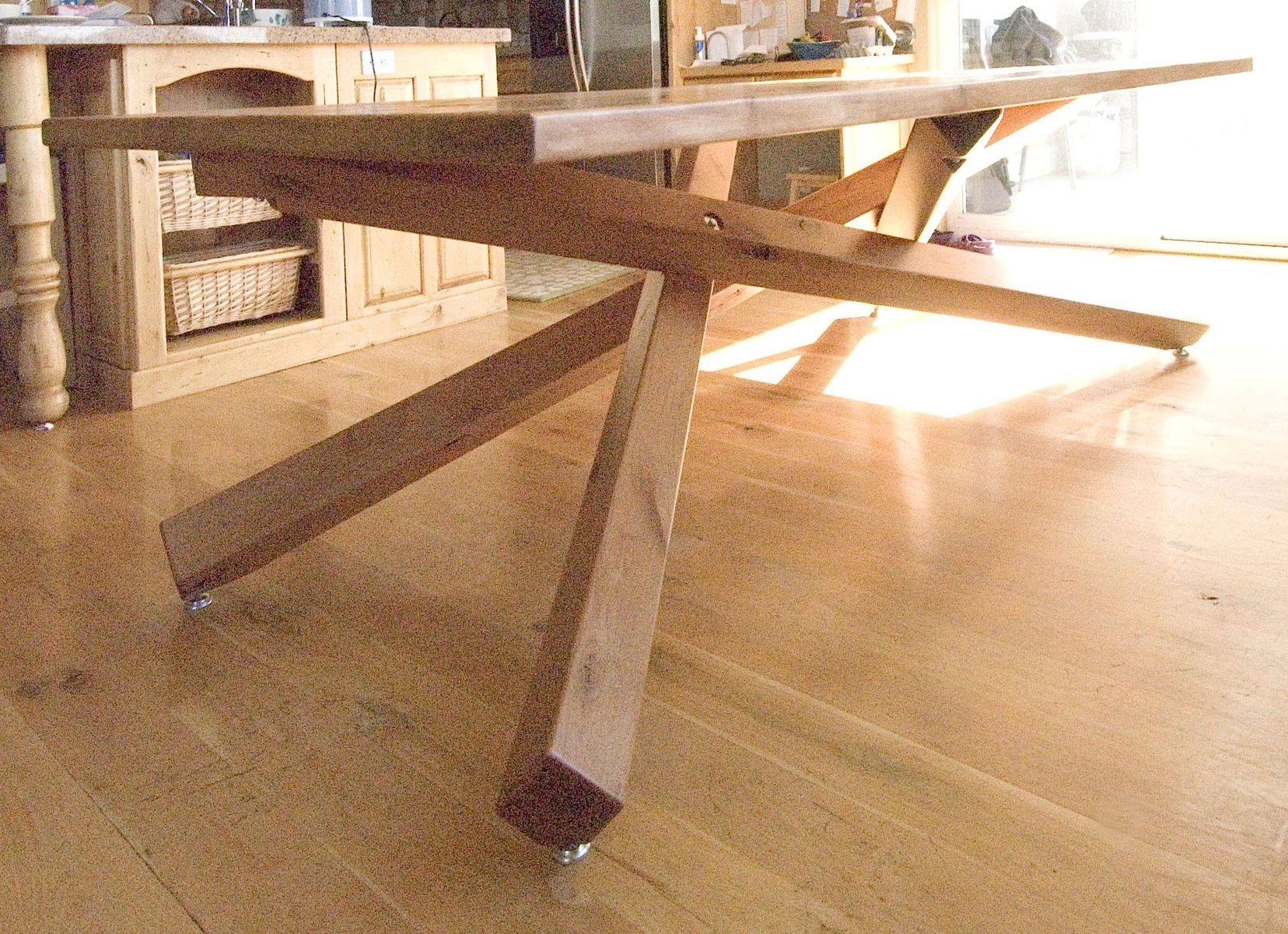 hand crafted dining table by terry 39 s fine woodworking