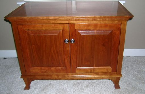 Custom Made Record Cabinet