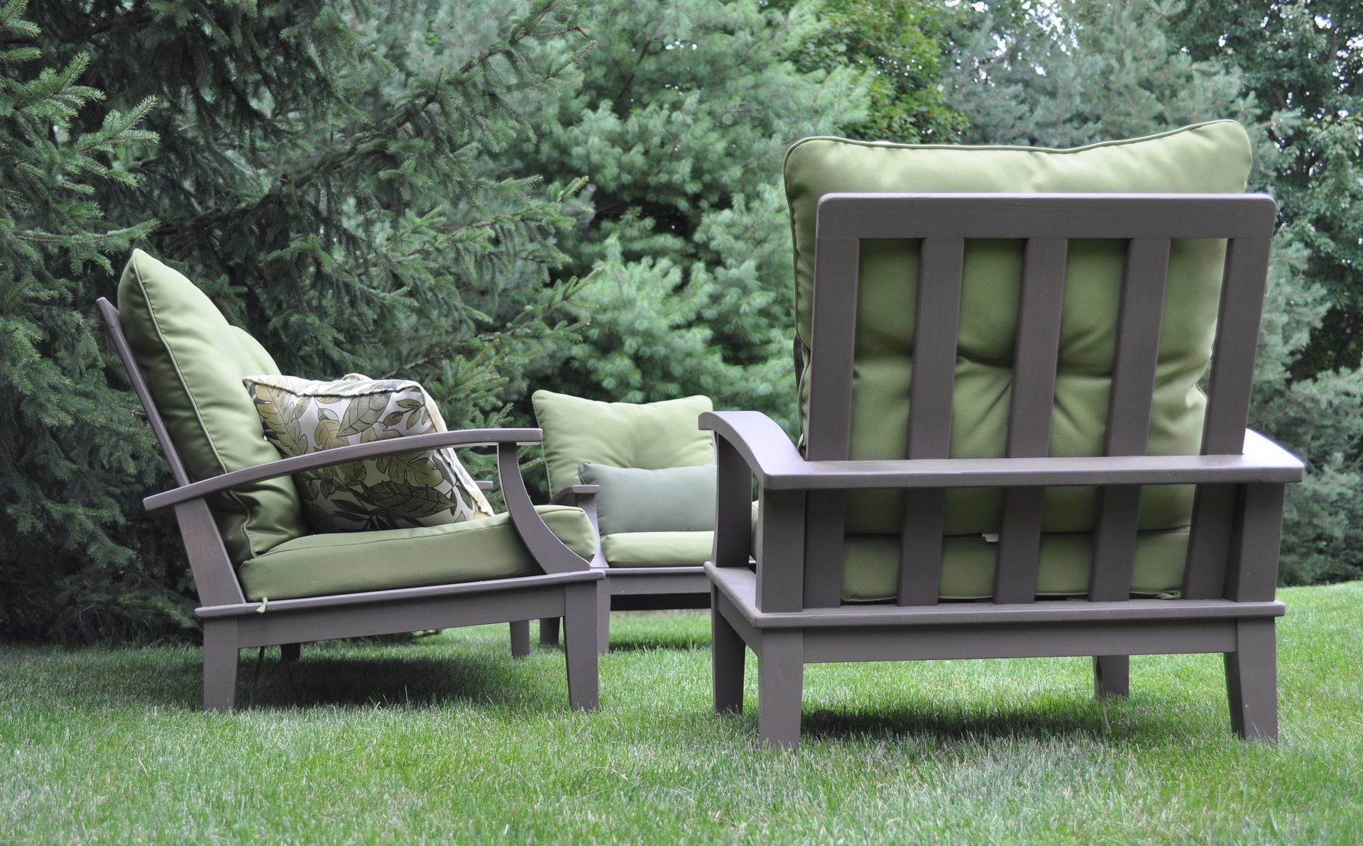made cypress patio furniture by glessboards