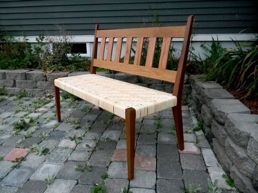 Custom Made Hand Crafted Bench