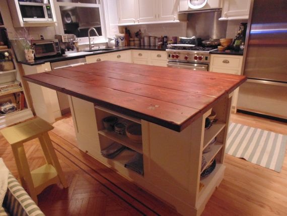 Hand Made Reclaimed Wood Farmhouse Style Counter Or Island