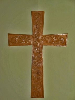 Custom Made Hand Carved Cross