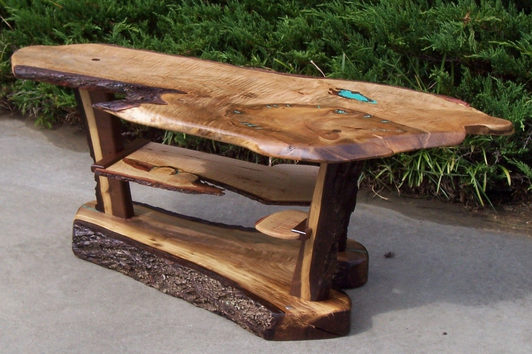 Hand Crafted Live Edge Walnut Coffee Table By Nature 39 S