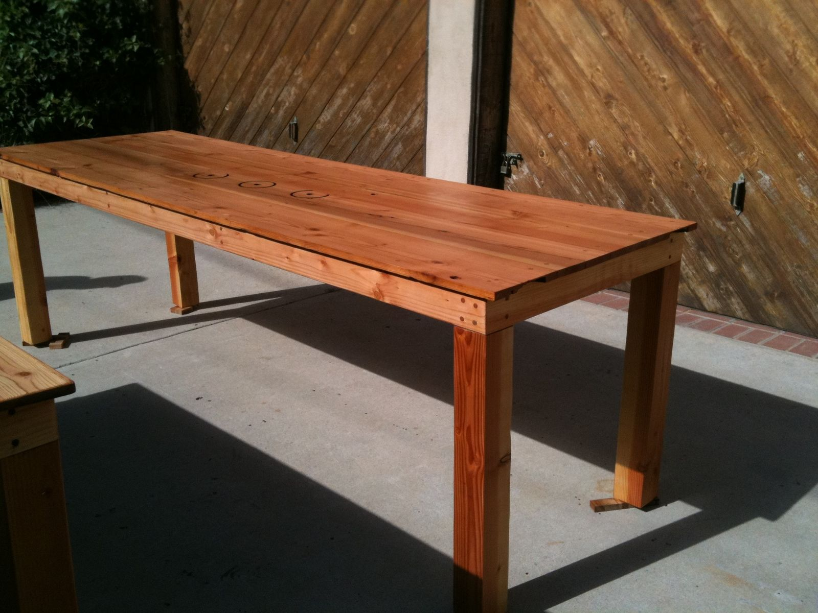 Handmade farm tables for sale by dagan design for Reclaimed wood furniture portland oregon
