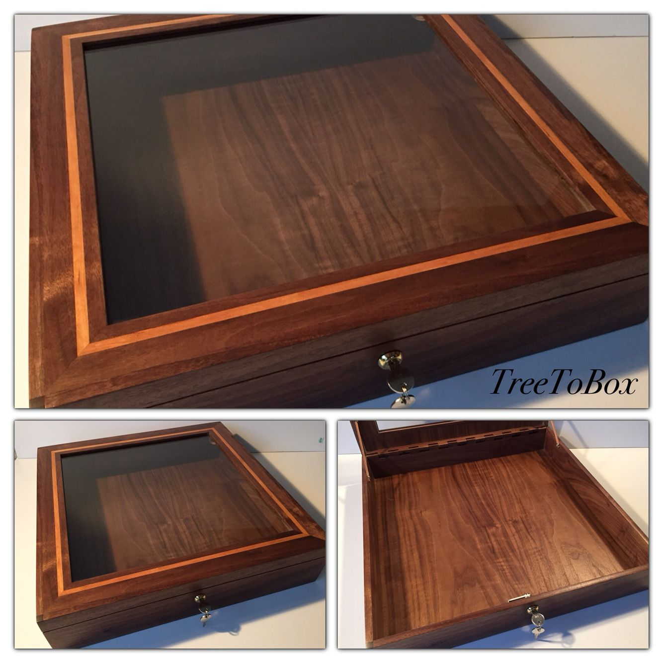 Handmade custom wooden display boxes by wood designs by for Design a case