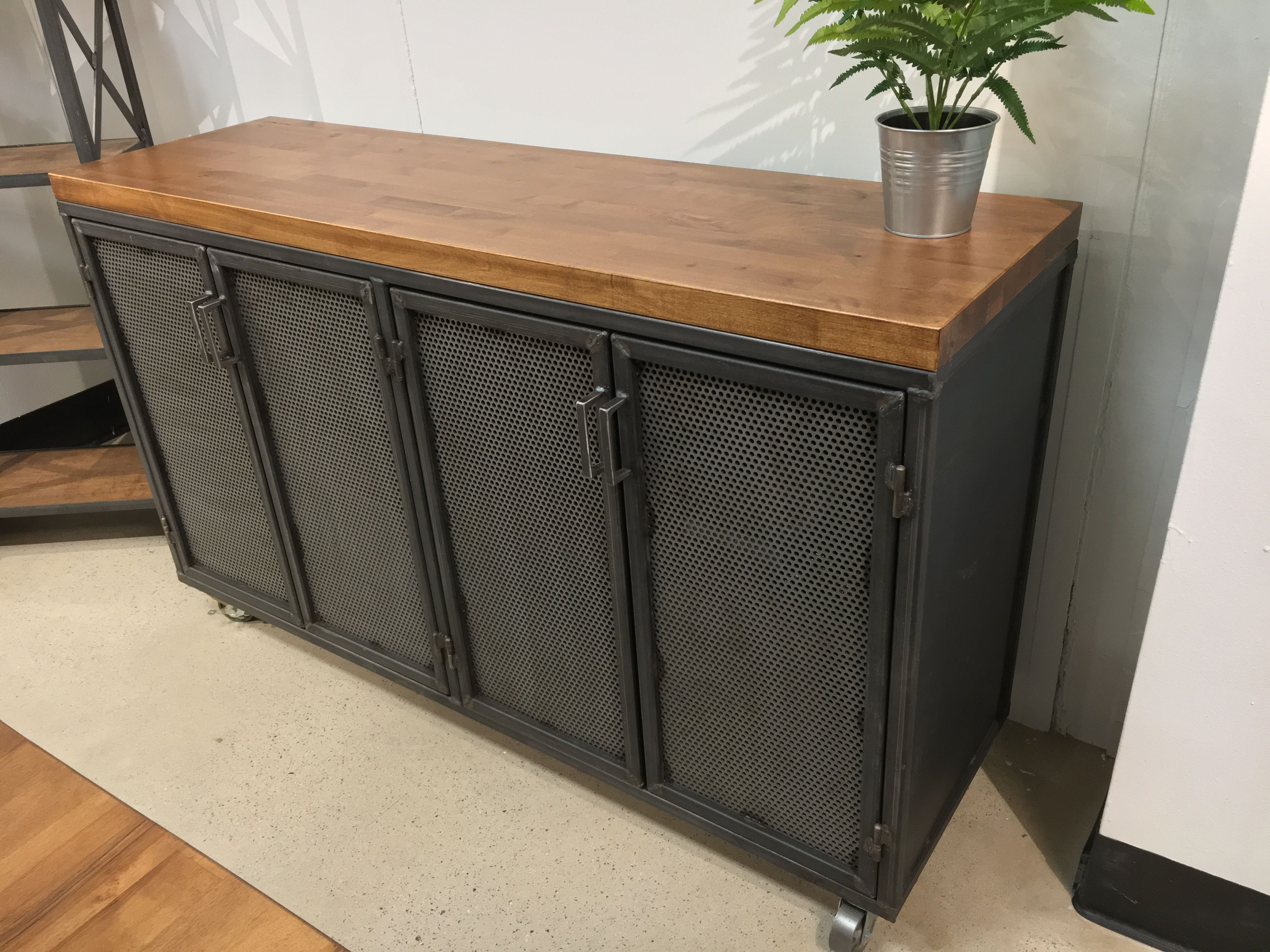 Buy A Custom Industrial Office Credenza Made To Order