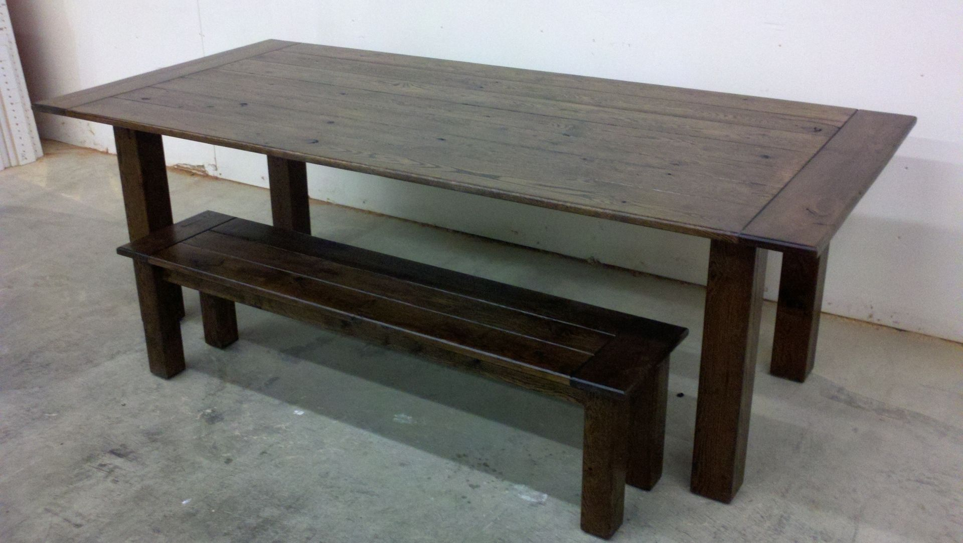 custom rustic dining room table by bj wood products llc