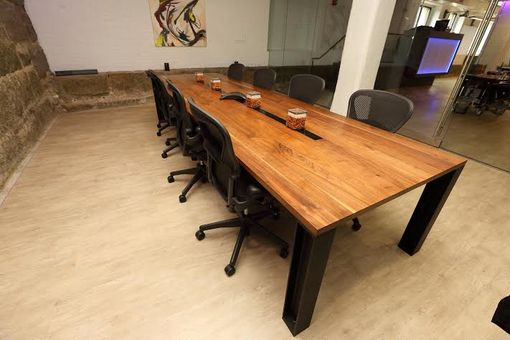 Hand Made Walnut Conference Table By Mak Delaney