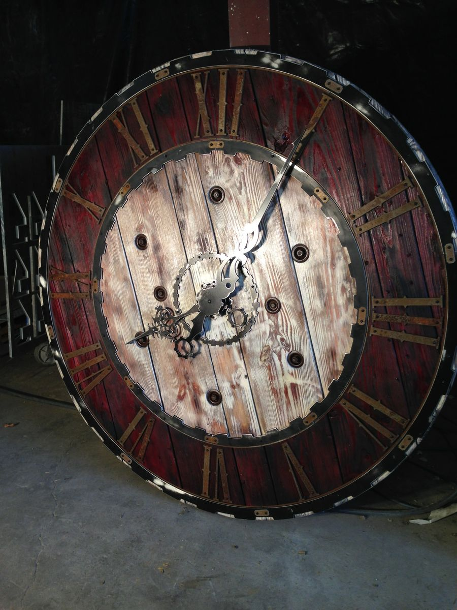 Buy A Hand Crafted Large Steampunk Clock Made To Order