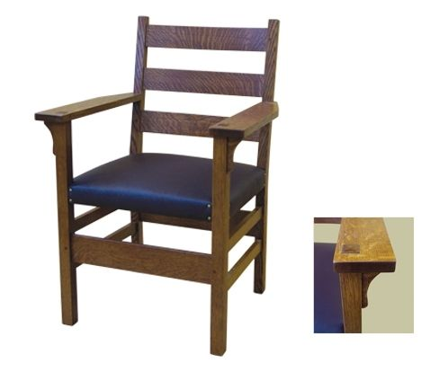 hand made g stickley dining chair by rb woodworking