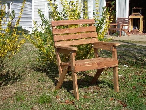 Custom Made Incense Cedar Outdoor Furniture