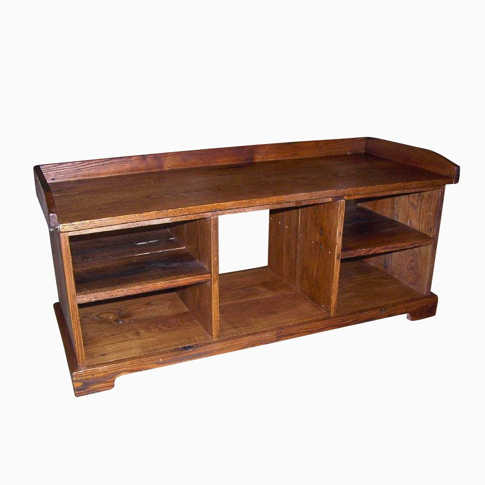 Buy A Handmade Vintage Reclaimed Storage Wood Bench Made To Order From The Strong Oaks Woodshop
