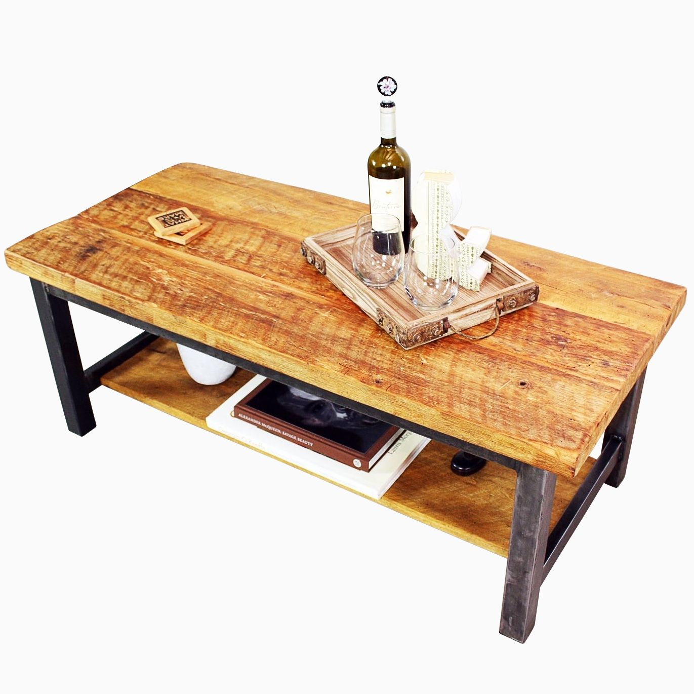 Buy A Hand Crafted Reclaimed Timber Coffee Table, Made To
