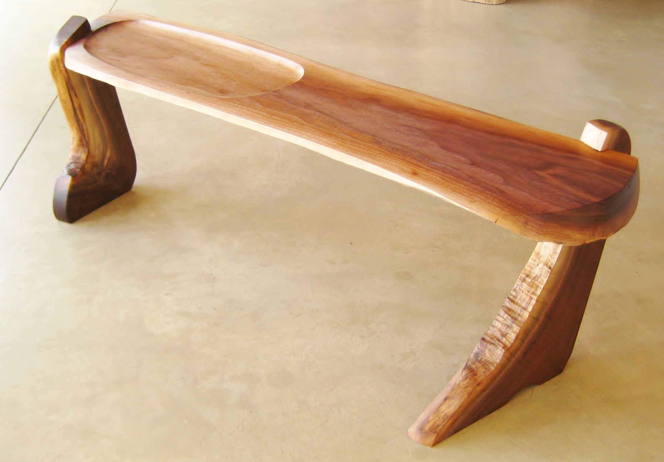 Buy A Hand Made Walnut Boot Bench Made To Order From Greg Wood Furniture