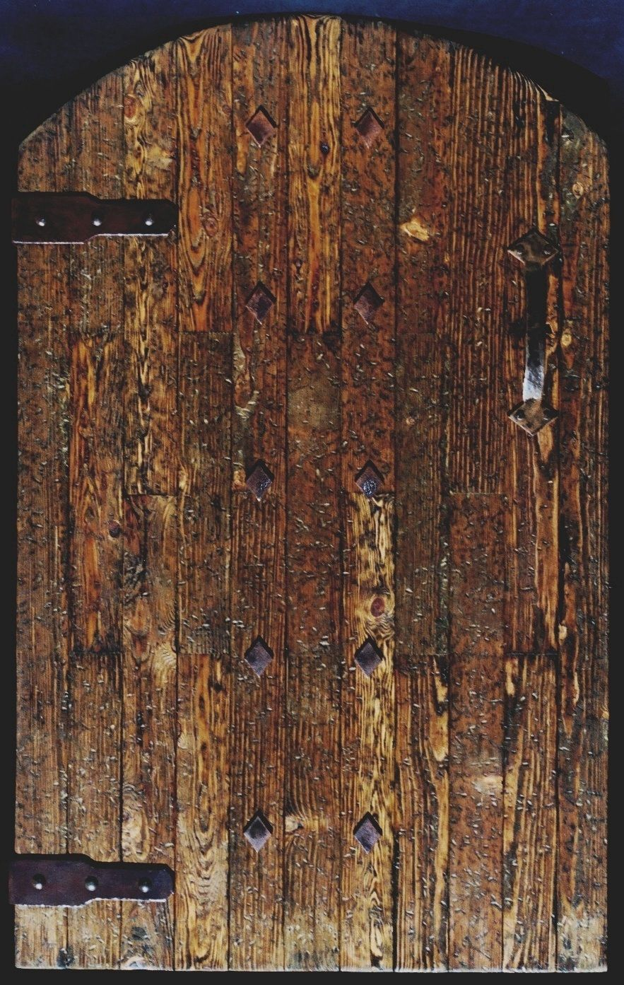 Hand Made Rustic Wood Gate With Old World Charm By Rustic