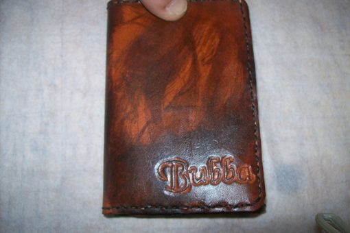 Custom Made Leather Trifold Imperial Wallet