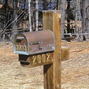 Custom Made Copper Mailbox By Copperdesign Custommade Com