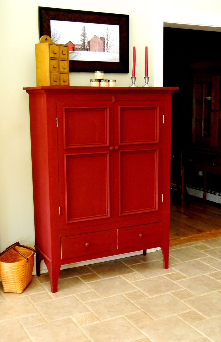 Custom Linen Press Storage Cabinet By T Kelly Furniture
