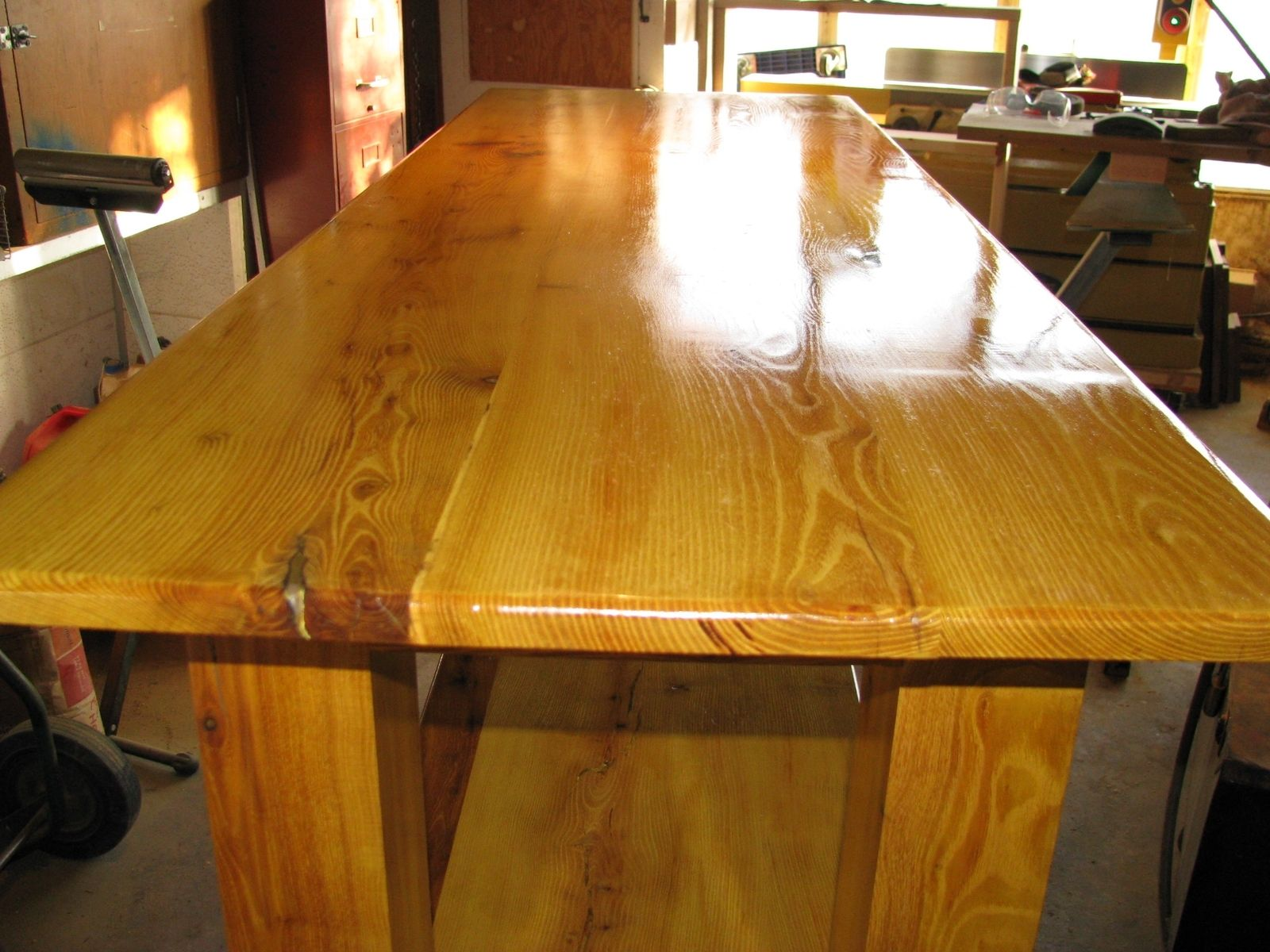 Hand Crafted Orange Table By Mdmco Custommade Com